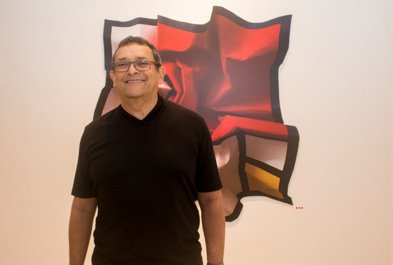 José Guedes arma preview do lançamento do livro Fênix, na Casa D'Alva
