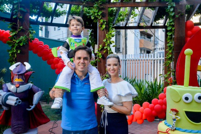 Toy Story Party - Alegria e muita diversão marcam o quarto aniversário do pequeno Bernardo Philomeno