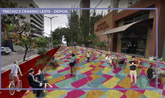 Prefeitura de Fortaleza detalha projeto da nova Desembargador Moreira