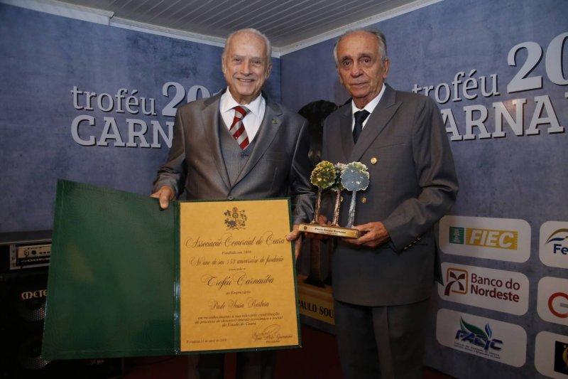 Homenagem - Paulo Barbosa Souza é agraciado com o Troféu Carnaúba 2019