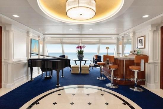 Luxo em alto mar! Ralph Lauren assina a nova decoração de navio da Oceania Cruises