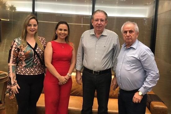 Ricardo Cavalcante recebe superintende do DNIT Ceará