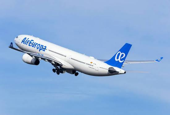 Air Europa lança voo Madri-Fortaleza ao mercado da Itália