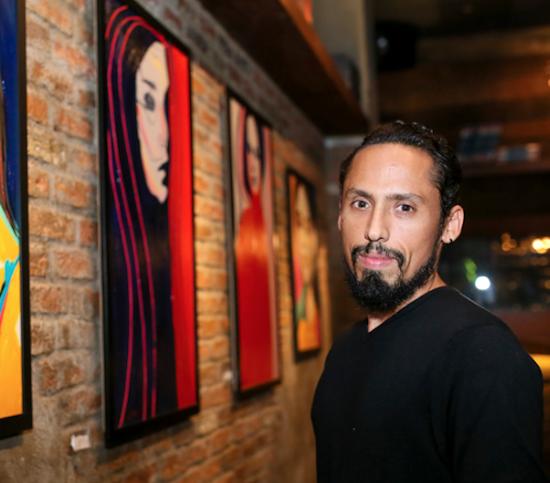 Primeira divisória artística de Juca Máximo atrai todos os olhares na CasaCor Ceará 2019