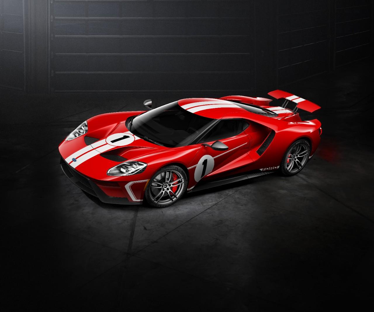 Ford apresenta edição especial do GT