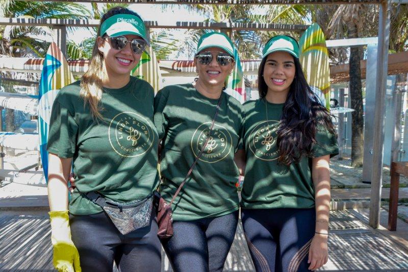Linda Praia  - Casa Linda Flor promove ação sustentável na Praia do Futuro
