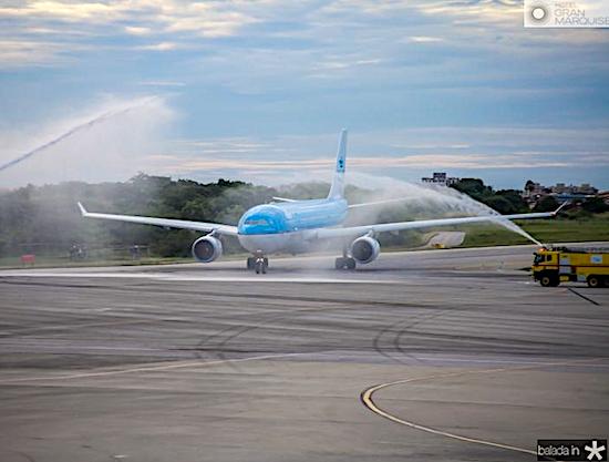 Camilo Santana busca novas ações do Grupo Air France-KLM
