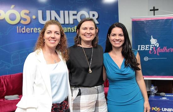 Ticiana Rolim e Lilia Sales falam sobre suas trajetórias de vida em evento na Unifor