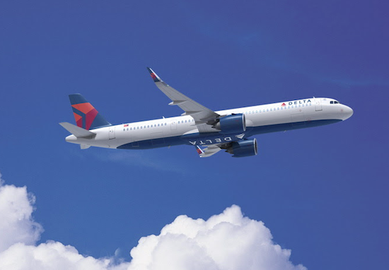 Delta encomenda 100 novos aviões à Airbus