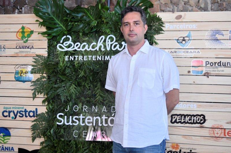 Murilo Pascoal pilota almoço de lançamento da Jornada Sustentável Ceará no Beach Park