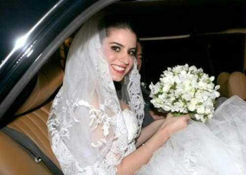 Natasha Pinheiro se tornou a Sra Leonardo dos Mares Guia, nesse sábado(06) em Minas Gerais