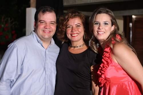Dose dupla: Mariana e Fernandinho Albuquerque festejaram seus aniversários juntos  na última sexta-feira.
