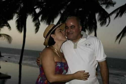 Luciano Cavalcante deu um festão na sua casa da praia da Lagoinha para comemorar seus 50 anos.