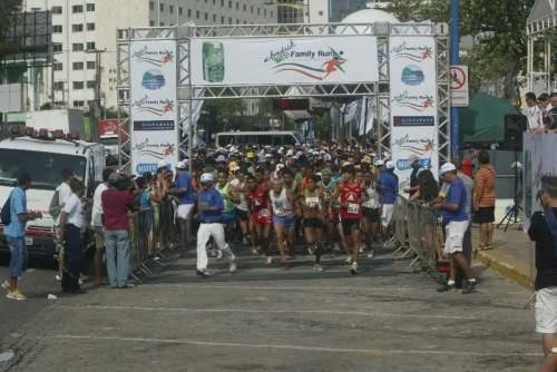 A  Jandaia Tea Family Run reuniu na Beira Mar cerca de 1500 participantes, no domingo.