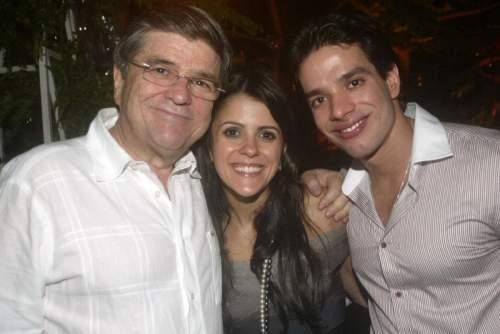 A mansão de Suely e Sérgio Machado foi palco do noivado de Tatiana Machado e Yuri Oliveira