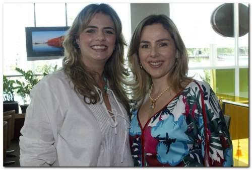 Super bem e felizes da vida, foi assim que as irmãs Suyanne Dias Branco e Taís Pinto festejaram seus Nats.
