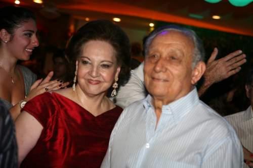 A tradicional festa de Natal de Norma e Humberto Bezerra, em Fortaleza.