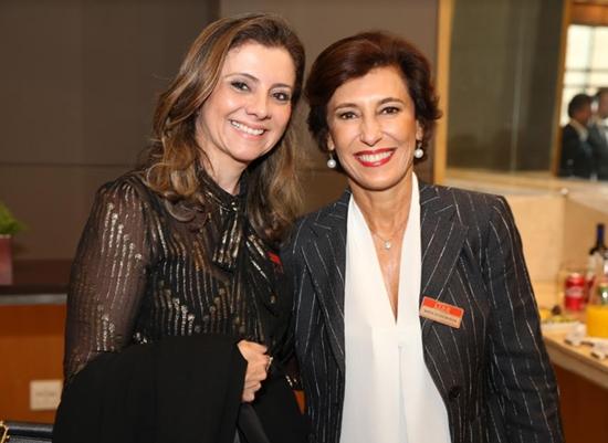 Presidente da Goldman Sachs Brasil, Maria Silva Bastos participa de evento do Lide, no Gran Marquise Hotel