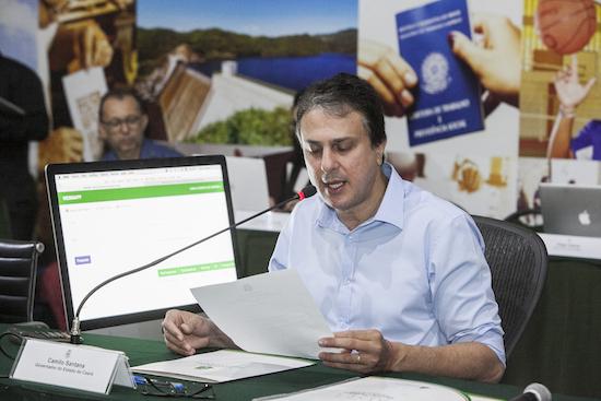 Camilo Santana quer focar em infraestrutura
