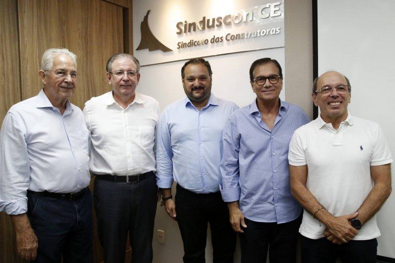 Patriolino Dias é eleito presidente do Sinduscon-CE por aclamação