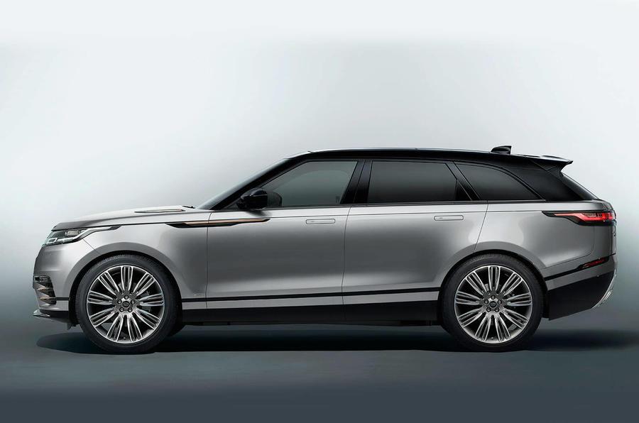Range Rover Velar é questão de meses