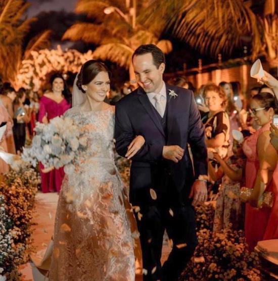 Fashion Gourmet assina o menu da troca de alianças de Manuela Câmara e Tomas Moraes