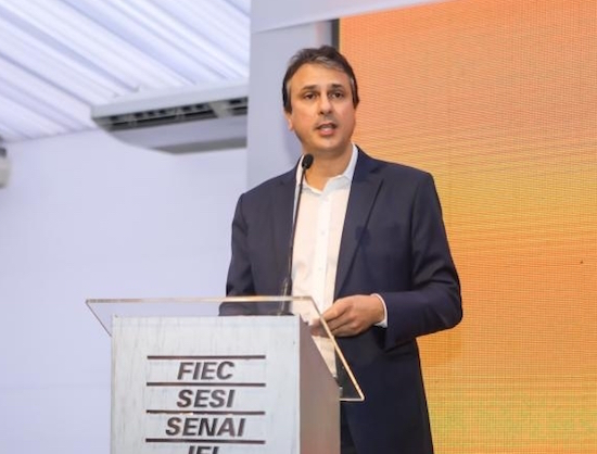Camilo Santana inaugura sistema de videomonitoramento no Estado