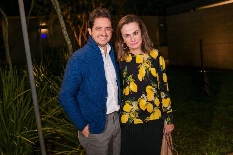 Carlos Jereissati Filho recebe convidados especiais em jantar na capital paulista