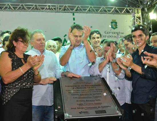 Camilo entrega rodovia no Ceará e reúne-se com diretor da Air France em São Paulo