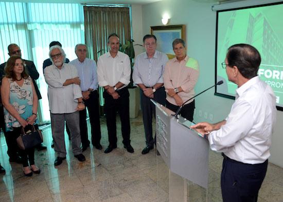 Beto Studart recebe executivo da Fraport, André Lima