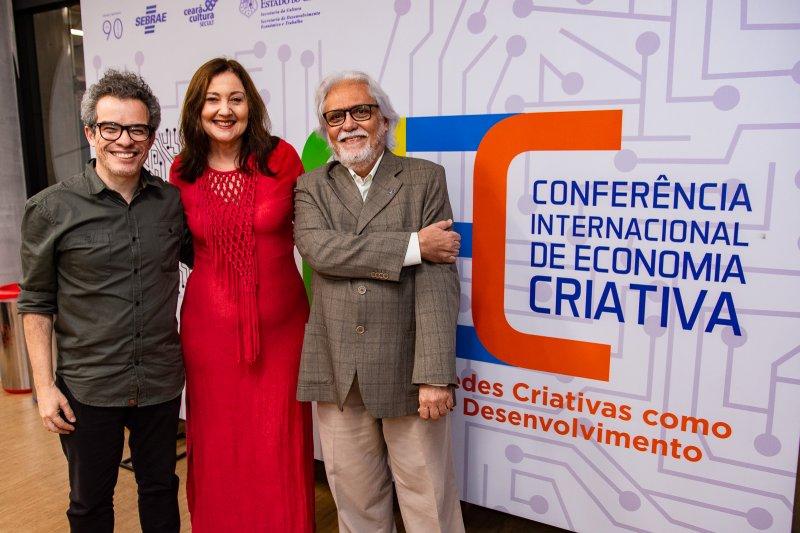 Abertura da Conferência Internacional de Economia Criativa reúne empreendedores no auditório do Sebrae