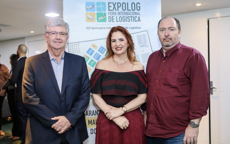 Expolog 2018 - Enid Câmara pilota o lançamento da 13ª edição da Feira Internacional de Logística, no LC Corporate Green Tower