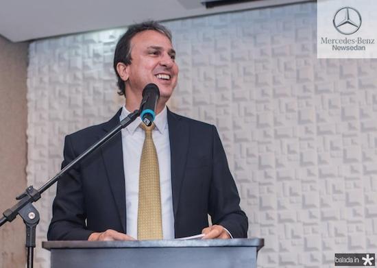 Camilo participa do anúncio de novos investimentos da Diageo no Ceará