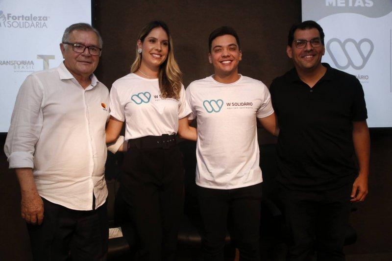 Wesley Safadão lança projeto solidário durante evento no Instituto Primeira Infância