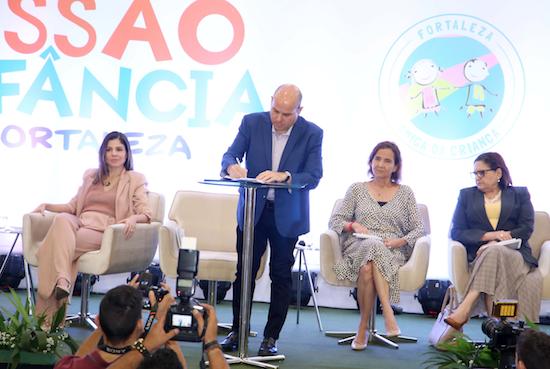 """Prefeitura de Fortaleza lança o """"Missão Infância"""""""