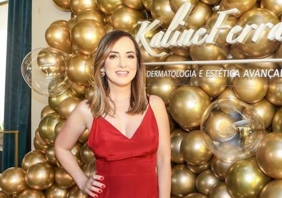 Kaline Ferraz vai marcar presença no Estética In Nordeste