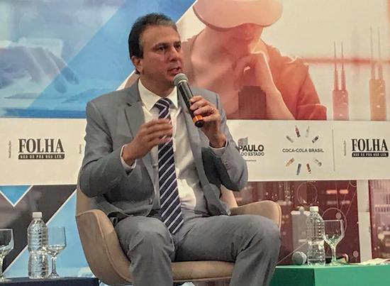 Camilo destaca oportunidades no Ceará durante Seminário de Inovação