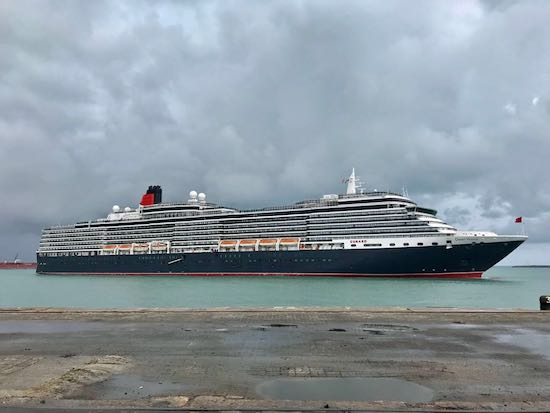 Navios de cruzeiros trazem 3.765 turistas ao Ceará no fim de semana