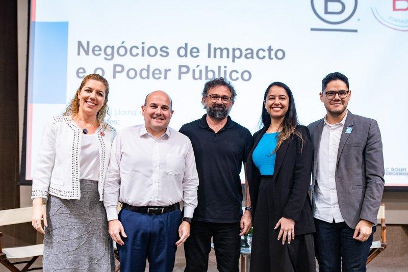 Negócios de Impacto - Roberto Cláudio participa do lançamento da Comunidade B Fortaleza, durante evento na FIEC
