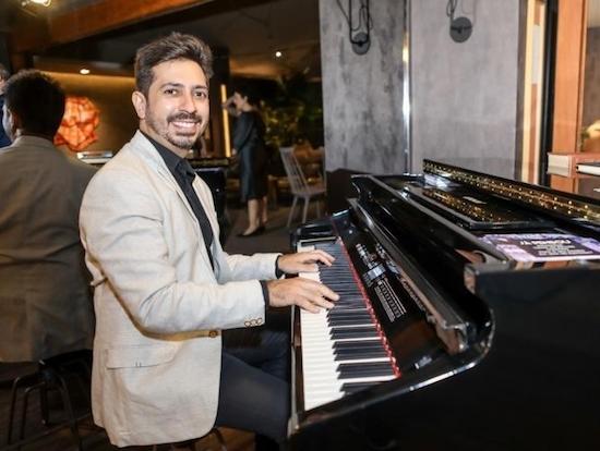 Felipe Adjafre celebra sua ascensão no mercado de eventos sociais da cidade