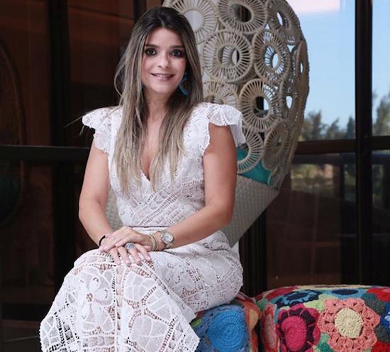 Camilla Arraes leva as rendas do Ceará para a Semana da Moda de Milão