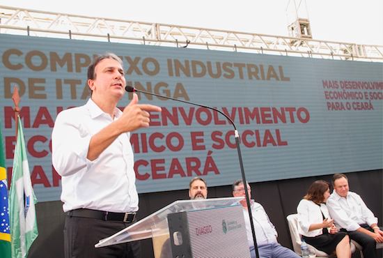 Camilo participa de lançamento de complexo industrial de R$ 100 milhões