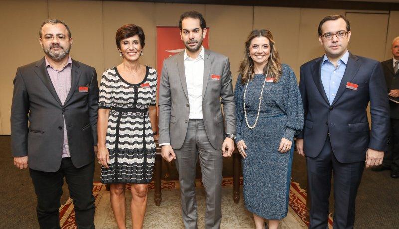 Almoço-debate - Maria Silvia Bastos lança livro e fala para líderes empresariais no Gran Marquise Hotel