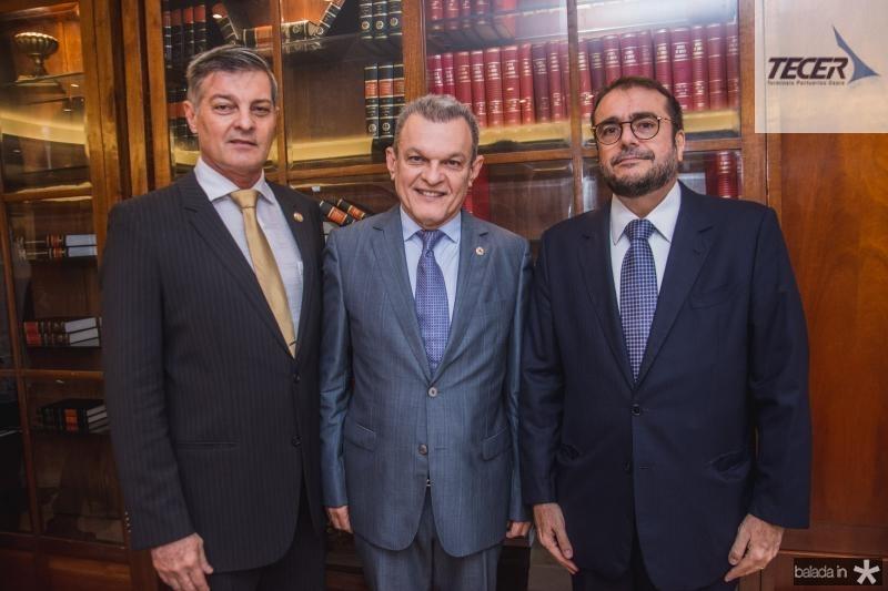 Cid Marconi, Sarto Nogueira e Jose Leite