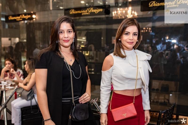 Manoela Nogueira e Daniela Linhares