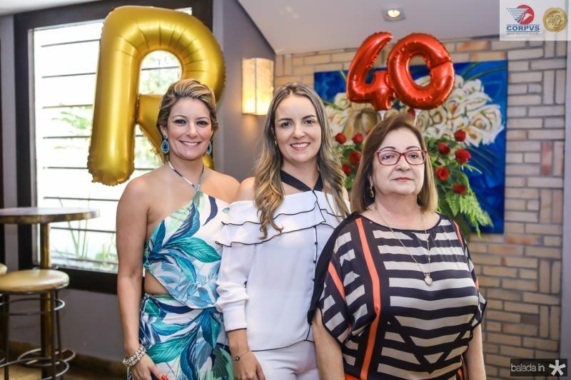 Tatiana Luna, Raquel Vasconcelos e Mana Luna