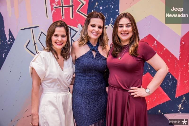 Cristina Miranda, Viviane Goyanna Bayma e Lya Pinheiro