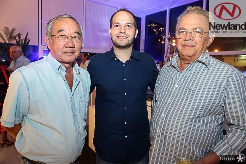 Carlos Nayto, Marcos Carvalho e Henrique Bezerra