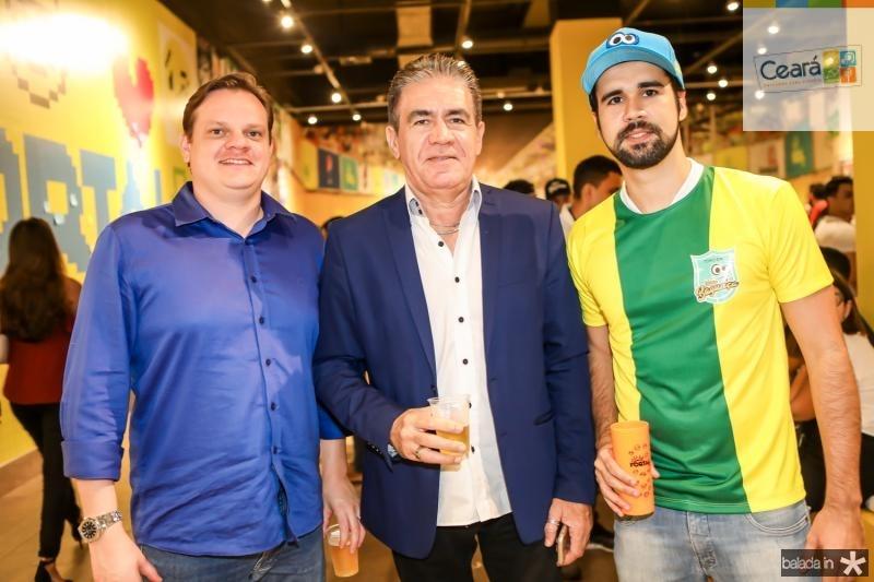 Rafael Teixeira, Alfredo e Lucas Piarce