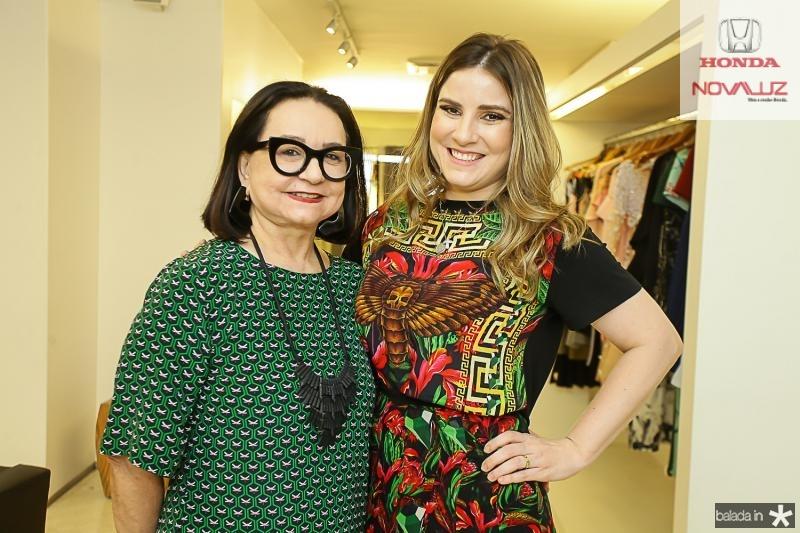 Celi Andrade e Maria Clara Dalolio